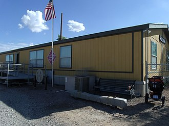 Arizona Railway Museum - Image: Chandler Arizona Railroad museum building
