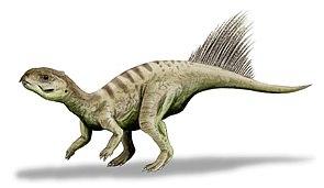 Rekonstruktion von Chaoyangsaurus