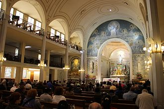 Catherine Labouré - Image: Chapelle Notre Dame de la Médaille Miraculeuse 1