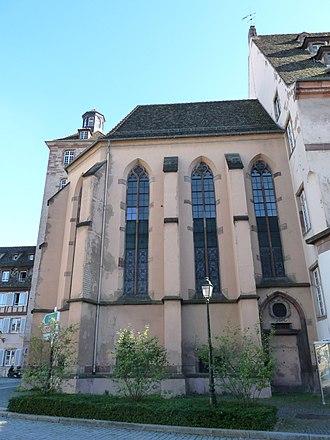 Hôpital civil, Strasbourg - Chapelle Ehrhard (1428)