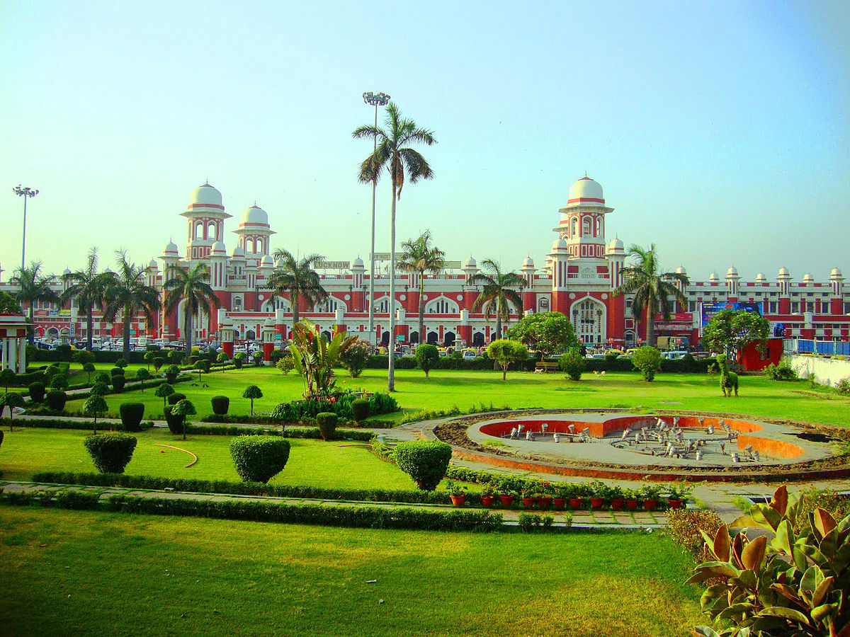 Lucknow Charbagh railway station - Wikipedia