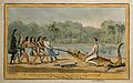Charles Waterton. Coloured etching by R. Cruikshank, 1827, a Wellcome V0006158.jpg
