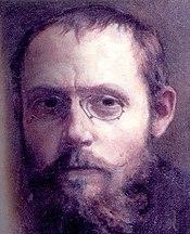 Charles Péguy portrait par Jean-Pierre Laurens (fils de Jean-Paul Laurens)