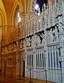 Chartres Cathédrale Notre-Dame de Chartres Innen Chorschranke 01.jpg