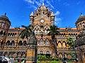 Chatrapati Shivaji Maharaj terminus. Mumbai. Maharashtra.jpg