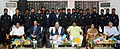 Chaudhary Birender Singh and the Union Minister for Tribal Affairs, Shri Jual Oram at a felicitation ceremony of 18 hockey cadets and two coaches of SAIL Hockey Academy for winning a number of accolades in various national.JPG