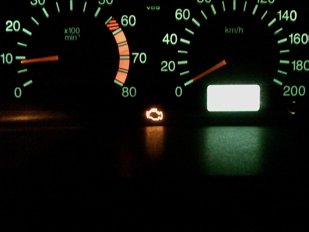 Resetting The Check Engine Light Turned On
