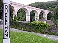 Chelfham Viaduct Lynton & Barnstaple Railway (geograph 1667109).jpg