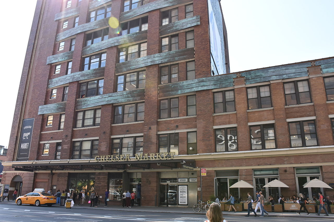 Exterior: Google To Buy Chelsea Market Building For $2.5B, The
