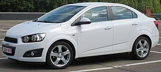 Chevrolet Aveo Motor vehicle
