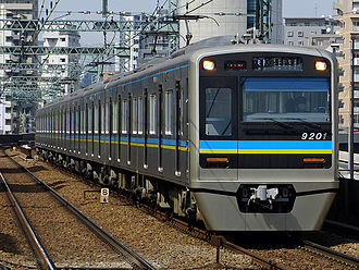 Hokusō Line - Image: Chiba nt 9200