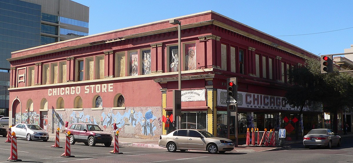 Historic Hotels Downtown Tucson Az