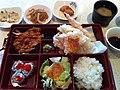 Chicken Bento Box with Shrimp Tempura @ Sakura Korean Japanese Restaurant (5690273727).jpg