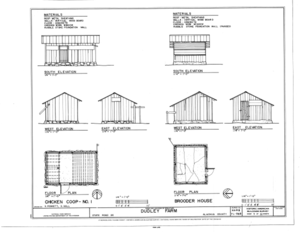 File:Pump House - Elevations, Floor Plan and Section - Dudley Farm ...