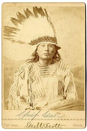 Gall (Native American leader) - Gall, circa 1880s