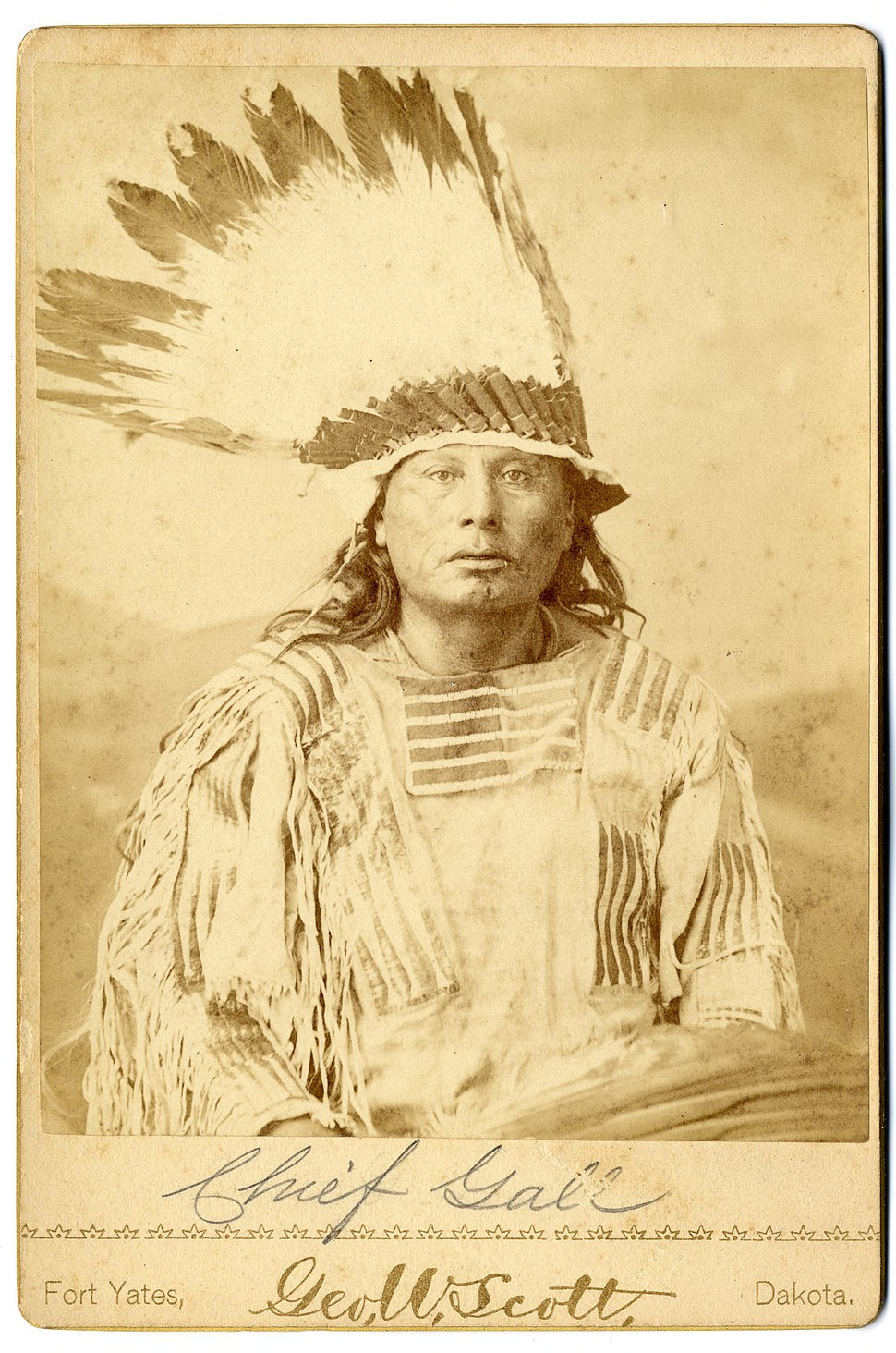 Chief Gall ca1880s
