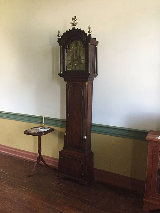Chief Vann House Grandfather Clock, Sept 2017