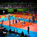China vs Serbia... Starting my Olympic Experience with these awesome game! And the match point by Brankica Mihajlovic! (28857016541).jpg