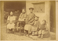 Chinese Family including Female Members, a Rare Scene as Strict Confucian Families Did Not Allow Women to be in the Company of Guests or Out of Their Homes. China, 1874-75 WDL1914.png