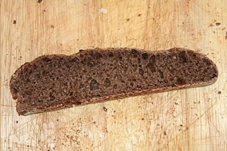 Brown bread - Chocolate-coloured sourdough bread