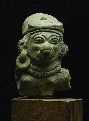 Pre-Columbian Ecuador - Statue from Chorrera Culture (1800—300 BC)