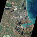 Christchurch and surrounding area from space, 4 March 2011.jpg