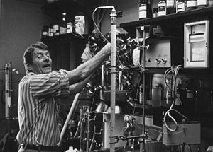 Christian B. Anfinsen - Anfinsen in the lab