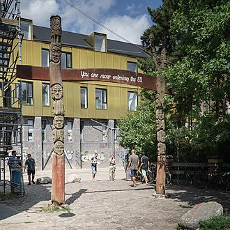 Freetown Christiania - Exit (Entrance)