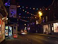 Christmas lights on High Street, Lyndhurst - geograph.org.uk - 637328.jpg