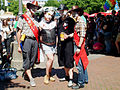 Christopher Street Day CSD in Hannover 2012 Am Steintor Gruppenbild mit Grazie.jpg