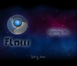 Chromium OS - Image: Chromium OS Flow login screen