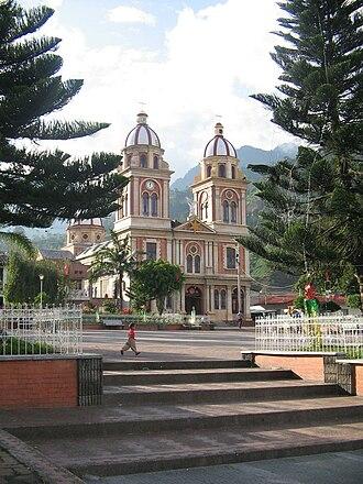 Cajamarca, Tolima - Image: Church in Cajamarca (Tolima)
