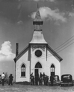 Norwegian Lutheran Church in 1941