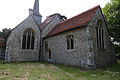 Church of St Andrew, Good Easter, Essex, England - from southeast.JPG