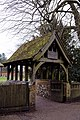 Church of St Laurence Blackmore Essex England - Lychgate.jpg