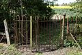Church of St Mary Magdalen Laver Essex England - churchyard north kissing gate entrance.jpg