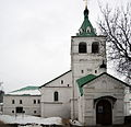 Church of the Dormition of the Theotokos in Alexandrov 06 (winter 2014) by shakko.JPG