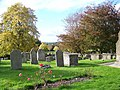 Churchyard - Church of St Mary, St Katharine and All Saints, Edington - geograph.org.uk - 1009150.jpg