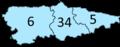Circunscripciones electorales de Asturias (2007).png