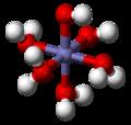 Cis-tetraaquadihydroxoiron(III)-3D-balls.png