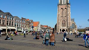 Delft - Central square of Delft