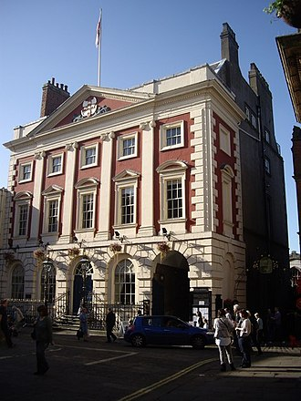 Mansion House, York - The Mansion House at St Helen's Square in York