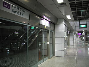 Clarke Quay MRT Station, Aug 06.JPG