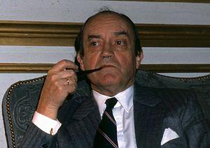 Claude Cheysson - Image: Claude Cheysson par Claude Truong Ngoc 1981