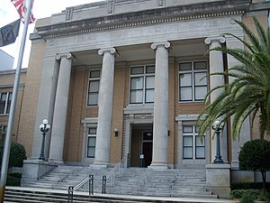 Old Pinellas County Courthouse - Image: Clearwater Pinellas cty crths 01