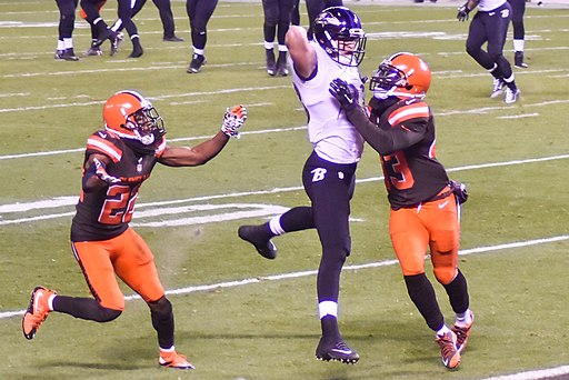 Cleveland Browns vs. Baltimore Ravens (23081722349)
