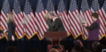 Clinton walking on stage to deliver her concession speech 03.png