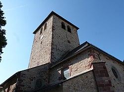 Clocher de l'église Saint-Julien (Agen-d'Aveyron).jpg
