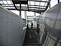 Closed underground station during G20 summit in Hamburg.jpg