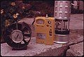 Closeup of Mine Safety Devices as Shown at a Kentucky State Mine Safety Contest Held in Benham, near Cumberland 10-1974 (3907245634).jpg